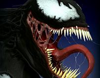 Venom ZBrush Sculpt