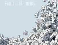 """Tetris"" Inspired 13x19 Inch Print"