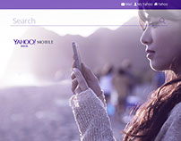 Yahoo India Mobile Apps Page Redesign Concept