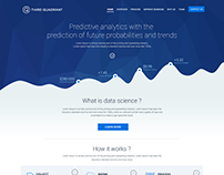 Landing Page Design Concept for Tech Startup