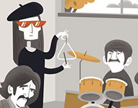 The Illustrated Beatles - group show