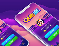 QuizBie Game Ui - Ux