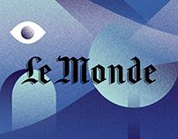 Illustrations pour Le Monde Argent