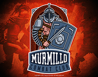 Murmillo Combat Club Emblem Logo