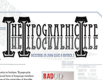 Typographic News Letter