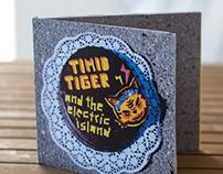 Timid Tiger//CD-Gestaltung