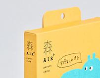 森AIR+ 親子口罩