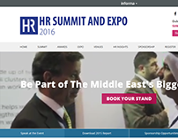 HR Summit Expo - Website Design