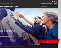British Education Web Site Design