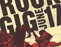 Poster - Rock Concert