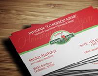 BusinessCard Design for Producers Association