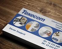 Business card for Surveillance equipment store