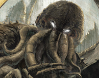 Cthulhu rises from R'lyeh