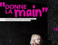 DONNE LA MAIN / AGENCE TEXTUEL LA MINE