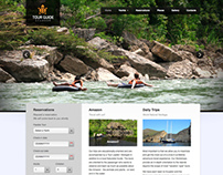 TOUR GUIDE ECUADOR WEBSITE