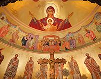 Sanctuary murals