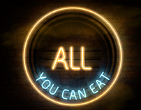 Logo illustration: All You Can Eat magazine