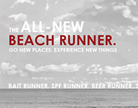 Beach Runner | Car ad
