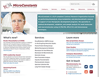 Web design for biotech