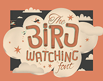 The Bird Watching Typeface