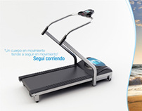 Silverlife Fitness - running machine