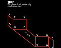 TEDx Binghamton #BeyondTheCanvas Design