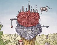 Illustration Friday - Ice Cream