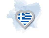 I love Greece LOGO