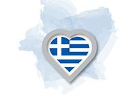 I love Greece LOGO