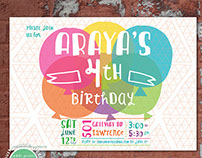 Children's Birthday Invitation
