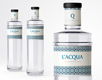 L'Acqua - bottle & label design