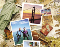 Greyhound Travel Services Great Vacations Collateral