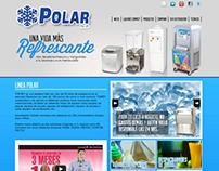 Línea Polar / Web Design