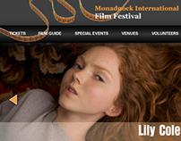 Monadnock International Film Festival Website Proto