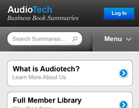 Audiotech.com → Mobile Site