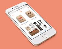 100 Days of UI – E-Commerce Shop