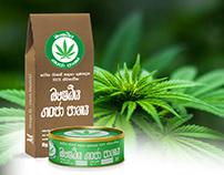 "Cannabis Advertisement - ""ඖෂධීය ගංජා පානය"""