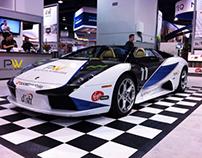 CES 2011 Platinum Wireless Lamborghini Murcielago
