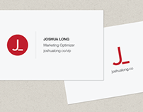 Joshua Long → Business Cards