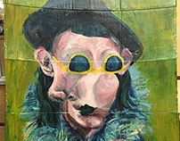 Self Portrait as Sabartes