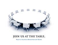 Majestic Insurance Broker Advisory Board Invite '09