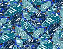 adidas originals - Mixed Pattern