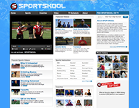 Web Design: Sportskool