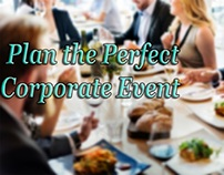 How To Plan The Perfect Corporate Event?