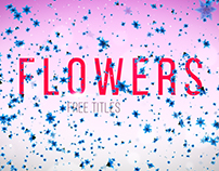 "Free After Effects Template ""Flowers Titles"""
