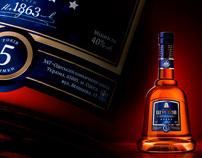 Shustov cognac for Playboy