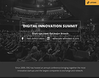 Digital Innovation Summit website