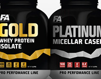 Protein pack label design