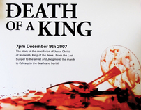 Death of a King event poster