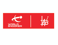 Snooker player studio logo
